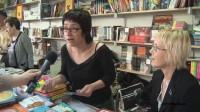 Entrevista a Escritores durante la 48 Feria del Libro de Valencia