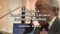 Reportaje a Francisco Ponce Carrasco