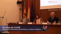 Celebración del 30º Aniversario de CLAVE y Homenaje a Cuatro Grandes Poetas Valencianos