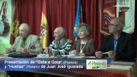"""""""Gota a Gota"""" (Poesía) y """"Huellas"""" (Relato) de Juan José Igualada"""