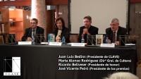 Ceremonia de entrega de los XXXIV premios de la Crítica Literaria Valencia