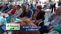 A-rimando celebró el día del libro en la plaza de la Virgen de Valencia