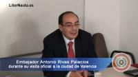 Visita oficial del embajador de Paraguay a Valencia