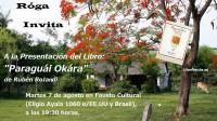 """Presentación del libro """"Paraguay Okára"""""""